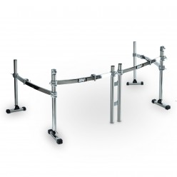 Rack 3i - 4 Lados - 2 Bumbos  6 Clamps